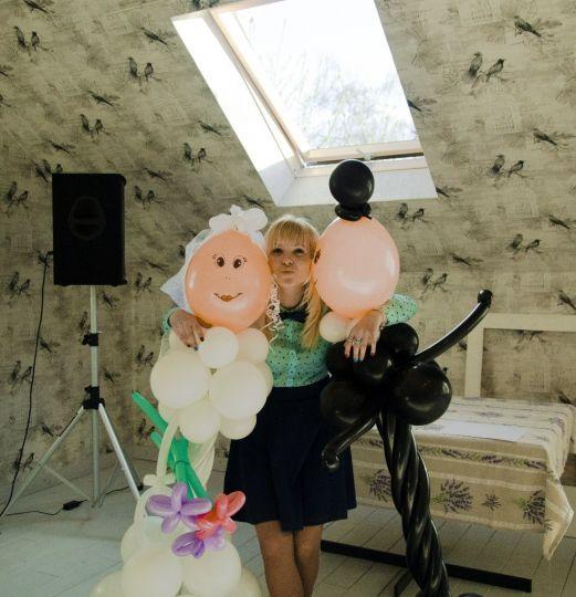 Пара фигур: жених и невеста