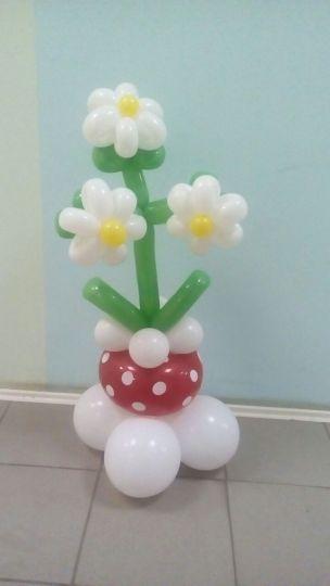 Фигура Цветок в горшке